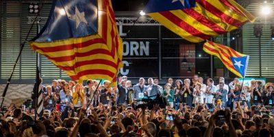 Uno de los principales precios que Cataluña tendrá que pagar será su permanencia en la Unión Europea Foto:Getty Images