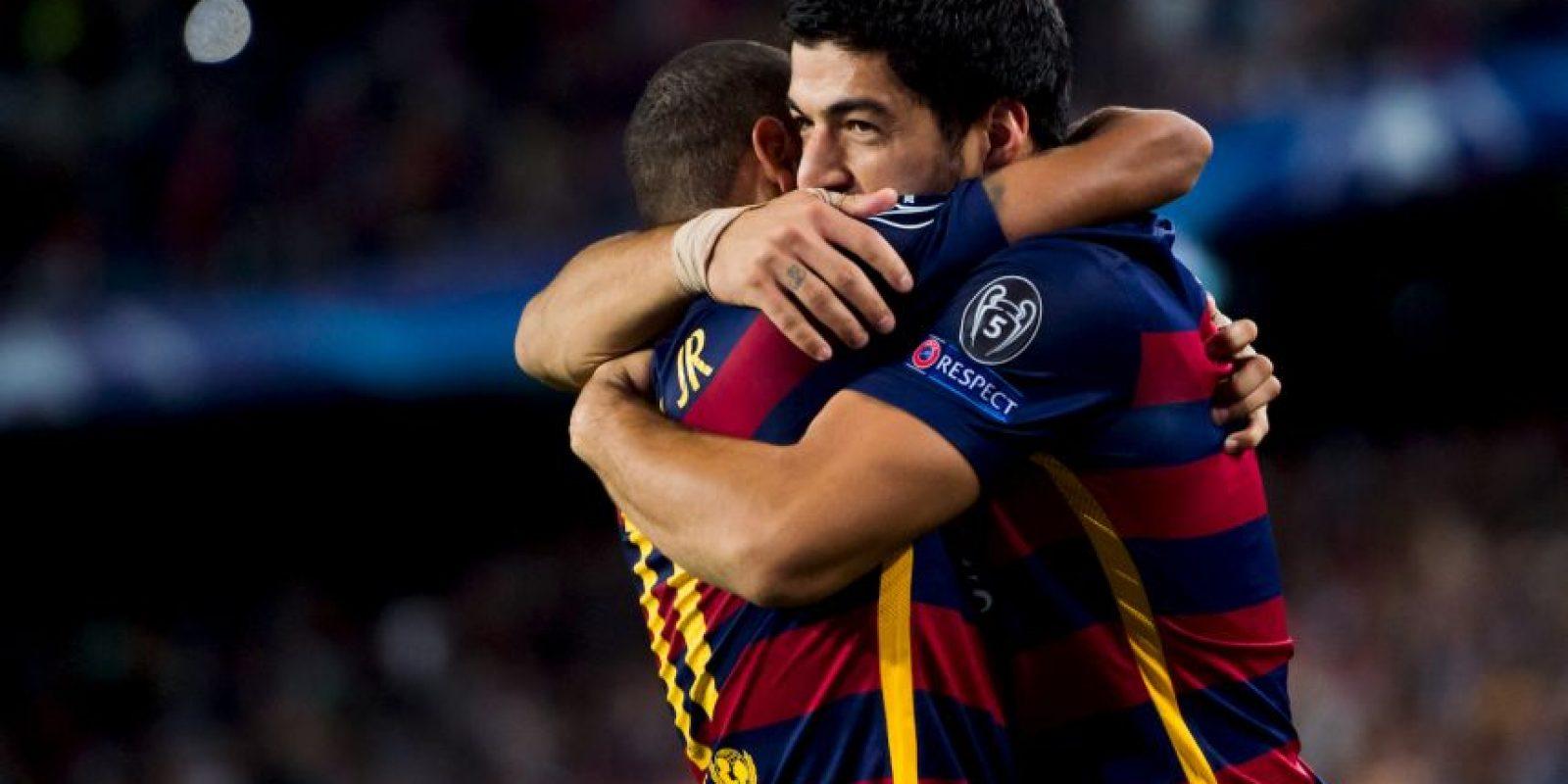 Y Suárez ha marcado nueve dianas Foto:Getty Images