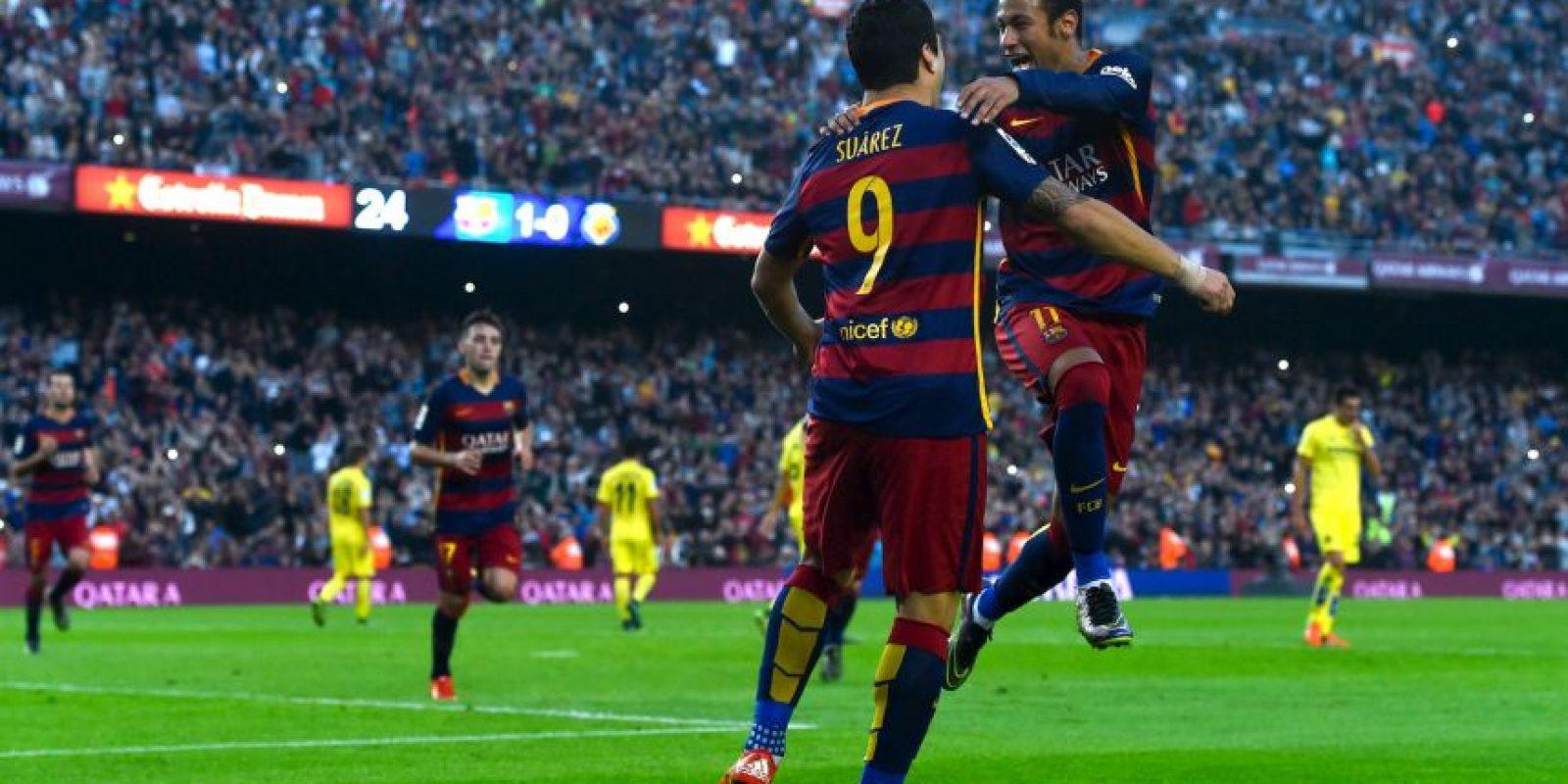 Neymar ha mandado el balón a las redes en 11 ocasiones Foto:Getty Images