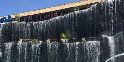 Las Cataratas Victoria son la última atracción que se instaló en el Parque. Foto:Publimetro