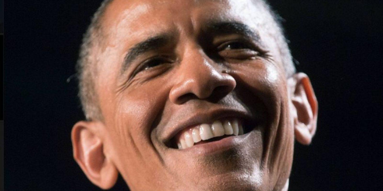 Esta fue la foto que eligió Barack Obama para su perfil Foto:Vía facebook.com/potus