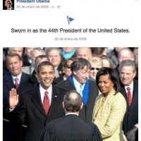 La información que ofrece incluye varios datos de su vida personal Foto:Vía facebook.com/potus