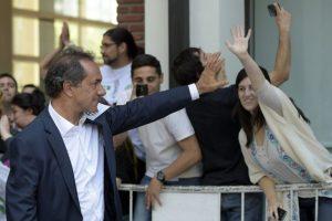 Al primero no acudió Daniel Scioli Foto:AFP