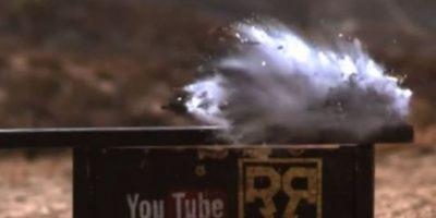 11- Se destruyó con un impacto de bala. Foto:FullMag / YouTube