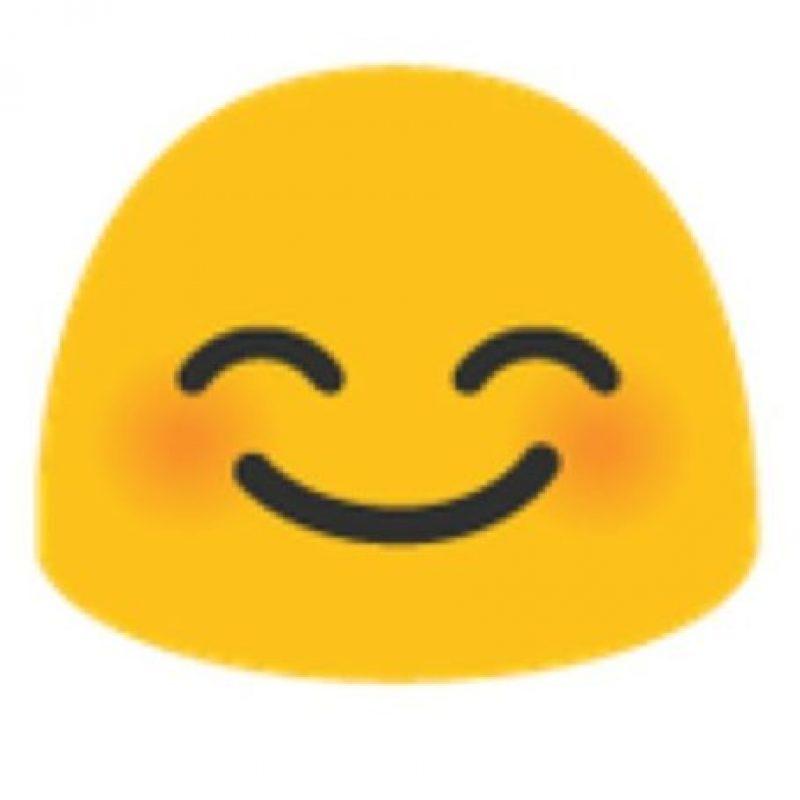 Cara sonrojada en Android. Foto:vía emojipedia.org