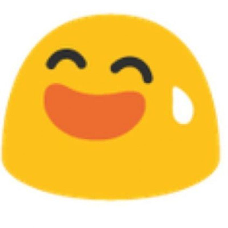 Gota en la cara en Android. Foto:vía emojipedia.org