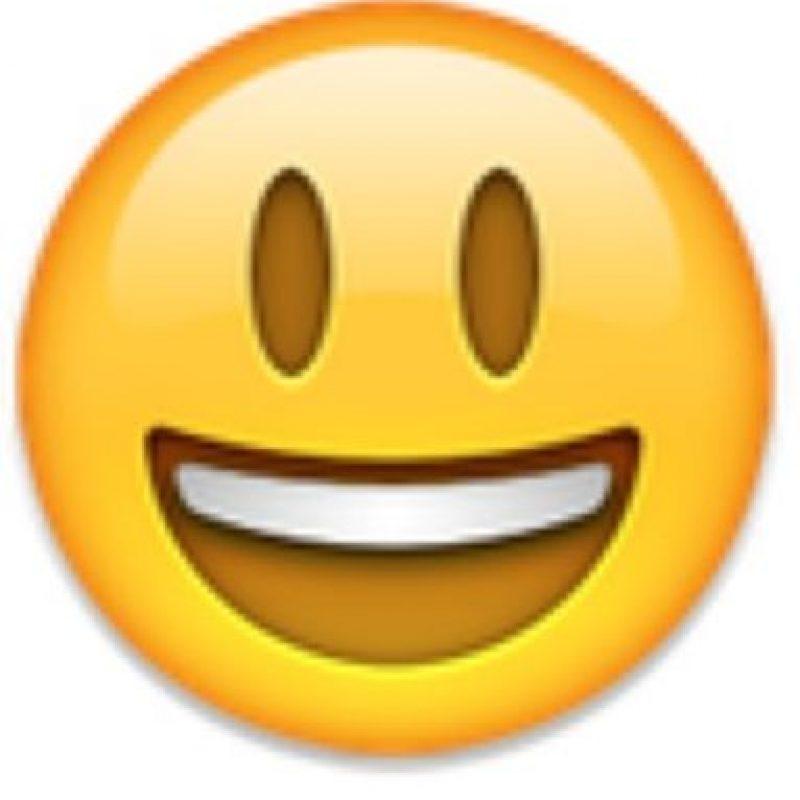 5- Felicidad en iOS. Foto:vía emojipedia.org