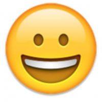 9- Sonrisa en iOS. Foto:vía emojipedia.org