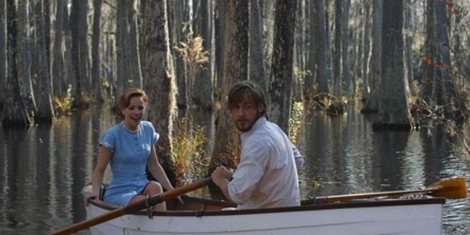"""4- """"Allie"""" y """"Noah"""" en """"Diario de una Pasión"""". Foto:vía YouTube.com"""