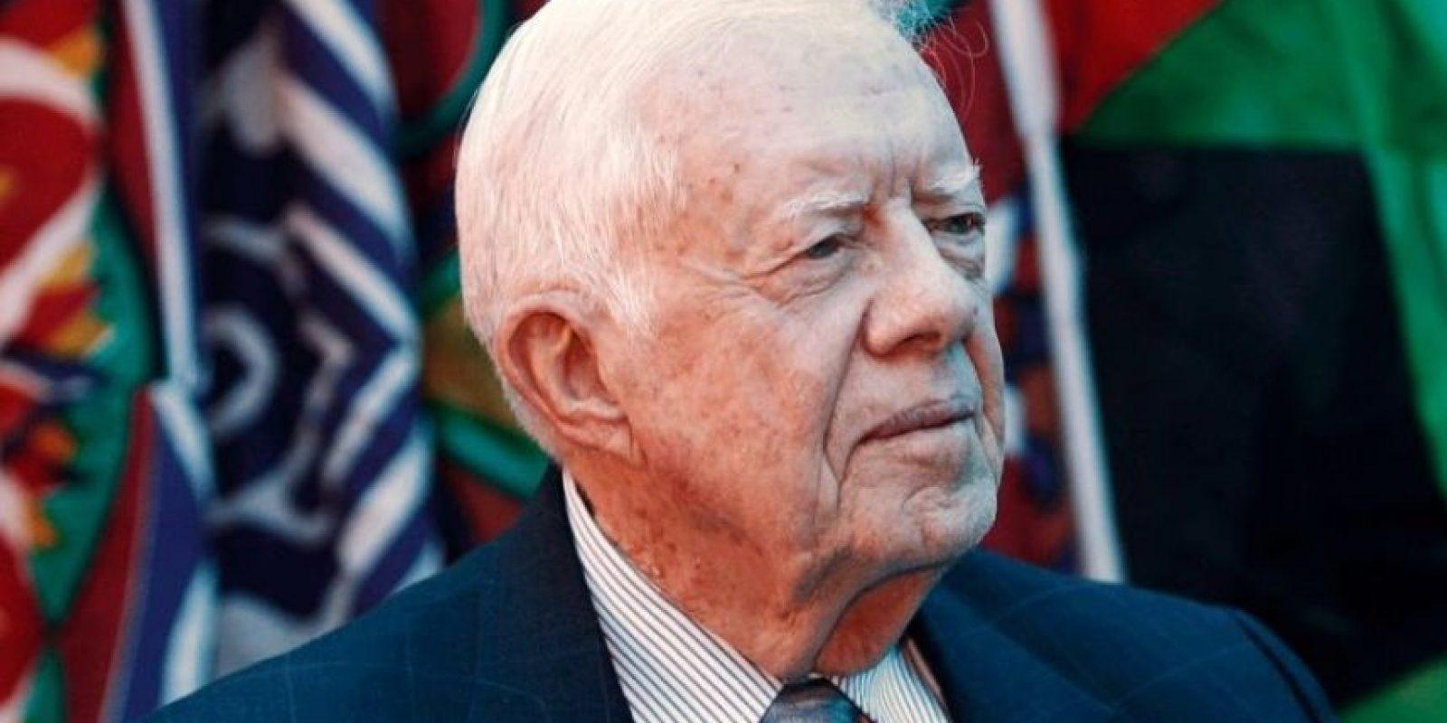 El expresidente de Estados Unidos, Jimmy Carter: Afirmó haber visto un ovni cuando era gobernador de Georgia, en 1969. Luego trató de desmentirlo antes de morir. Foto:Getty Images