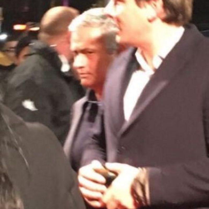 Y también José Mourinho, ex DT del club merengue. Foto:Vía twitter.com/TheCRonaldoFan