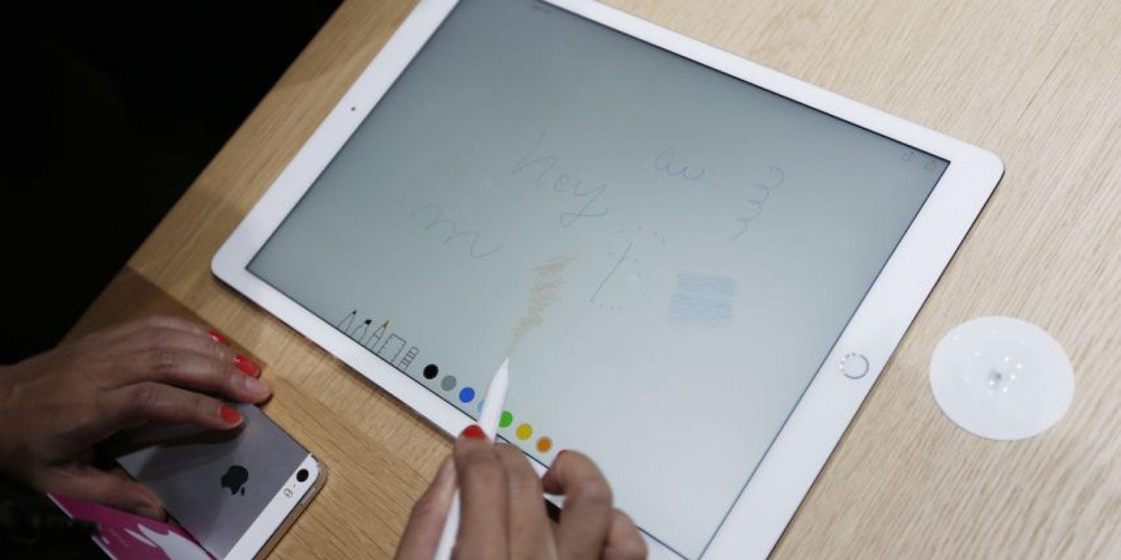 Apple Pencil ayudará en cuestiones de precisión. Foto:Getty Images