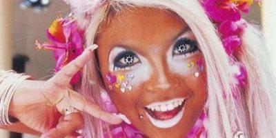 """Cabe destacar que con los años la cultura """"Gangura"""" evolucionó hasta convertirse en la moda llamada Manba, en la que aparte de toda esta caracterización se añade un maquillaje blanco alrededor de los ojos. Foto:Twitter"""