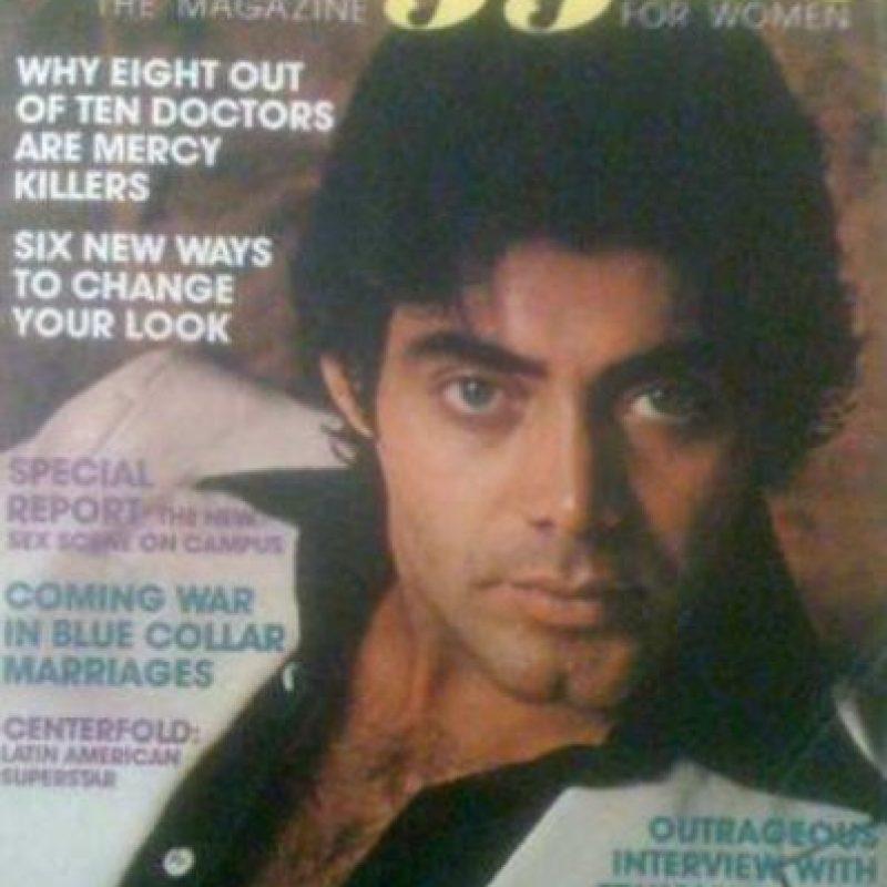 Jaime Moreno era un gran galán en los años 70. Foto:vía Tumblr
