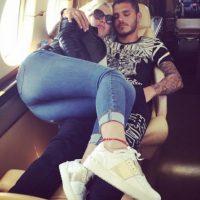 Pocos días después de que Wanda hiciera oficial su ruptura con Maxi López, confirmó a través de Twitter su relación con Icardi. Foto:Vía instagram.com/wanditanara