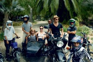 Y finalmente toda la familia Pitt-Jolie. Foto:Vogue Magazine