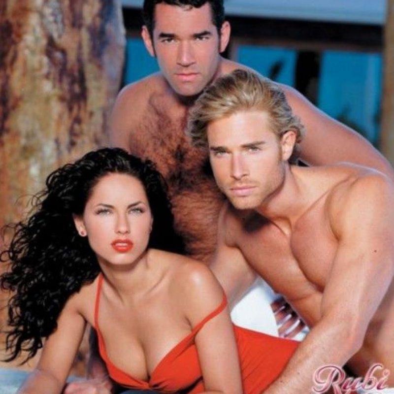 """3- """"Rubí"""". Primer episodio: 17 de mayo de 2004. Foto:Televisa"""