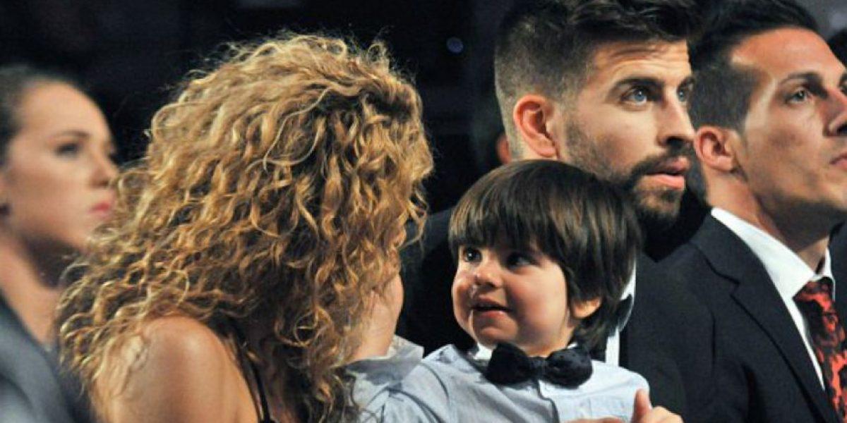 Video: Milan se le salió de las manos a Piqué y Shakira
