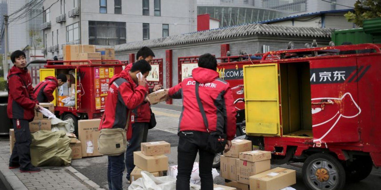 """Así se vivió el """"Día del Soltero"""" en China Foto:AP"""