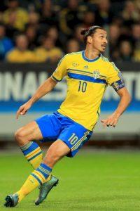 12. Zlatan Ibrahimovic Foto:Getty Images