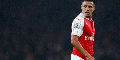 El delantero chileno del Arsenal Foto:Getty Images