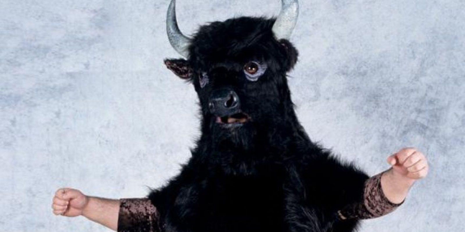 10. ManTaur / Quería representar al famoso Minotauro pero en lugar de asustar, se ve cómico. Foto:WWE