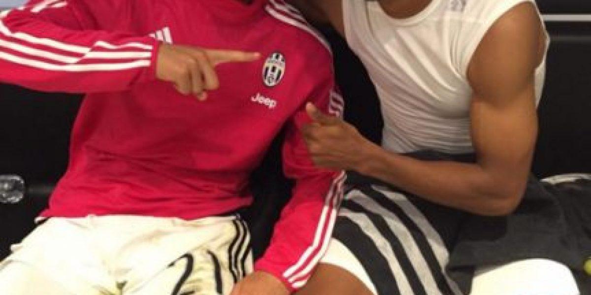 Foto: Juan Guillermo Cuadrado ya está apoyando a la Selección