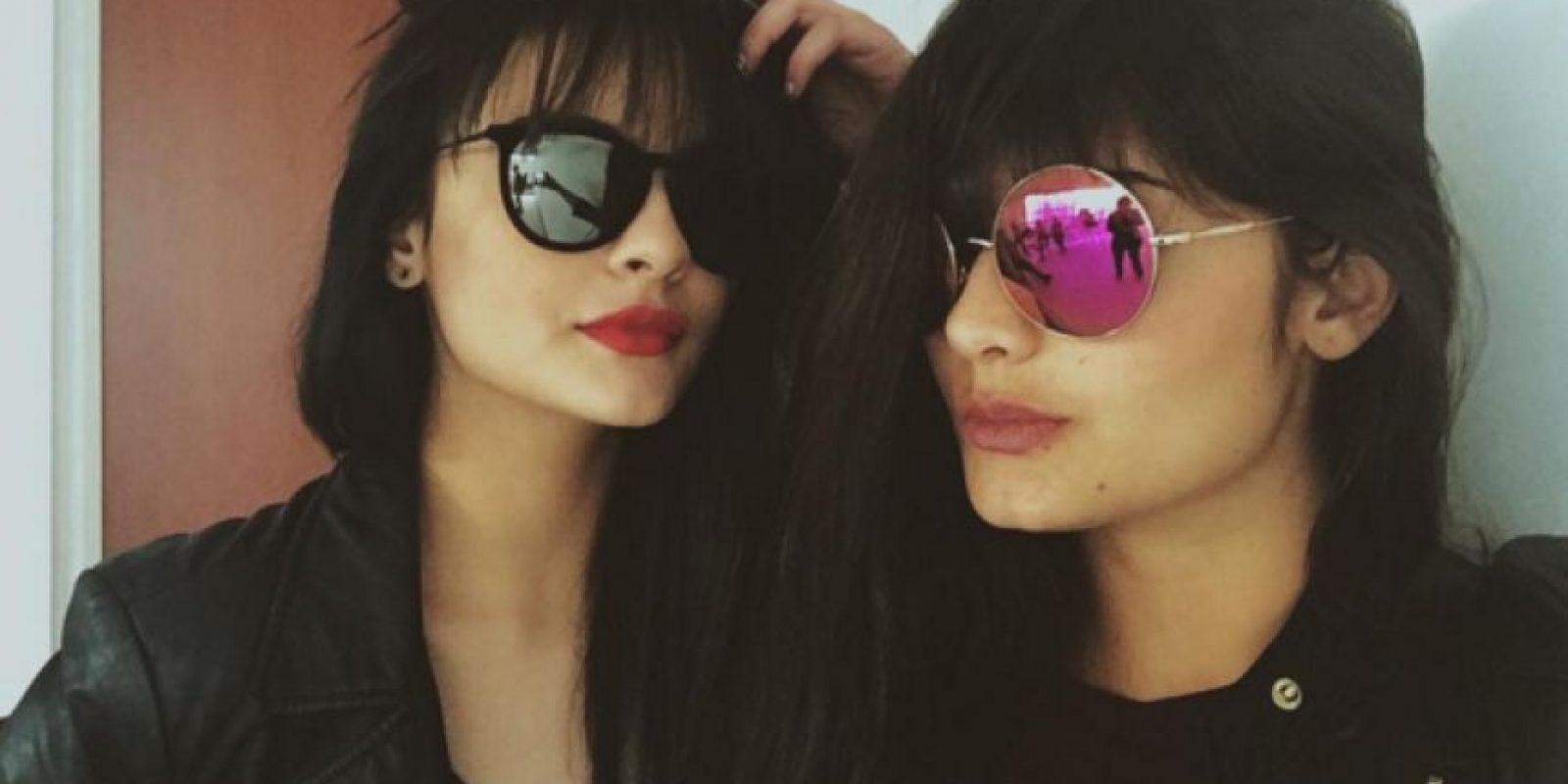 Acá con su hermana Yuri Vargas Foto:Instagram María José Vargas