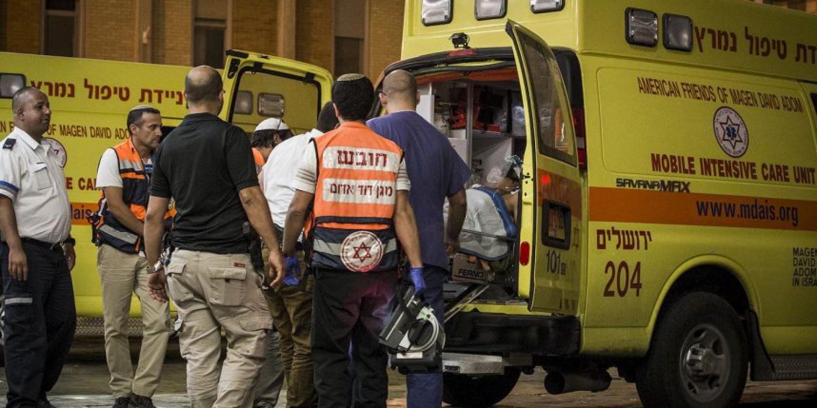 Al trasladarlo al hospital con varias heridas de arma blanca los médicos descubrieron lo que pudo ser un tumor. Foto:Getty Images