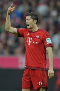 5. Robert Lewandowski Foto: Getty Images