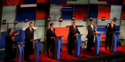 También Marco Rubio, Ted Cruz , Carly Fiorina, Jeb Buch y John Kasich. Foto:Getty Images