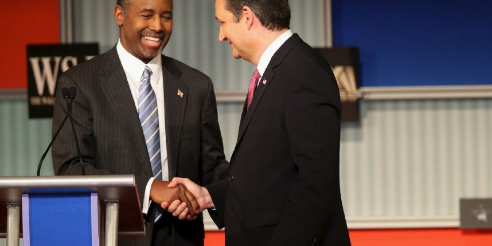 En él se enfrentaron precandidatos muy reconocidos como Donald Trump y Ben Carson. Foto:Getty Images