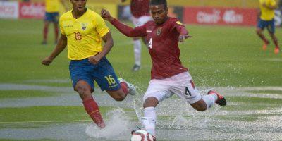 En el partido, que se disputó en Quito, resultó vencedor Ecuador por marcador 2-0. Foto:Getty Images