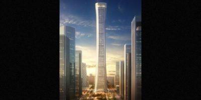 10. Zhongguo Zun (China) – 108 pisos – 538 metros (1732 pies) de altura. Foto:Kohn Pedersen – Skyscrapercenter.com