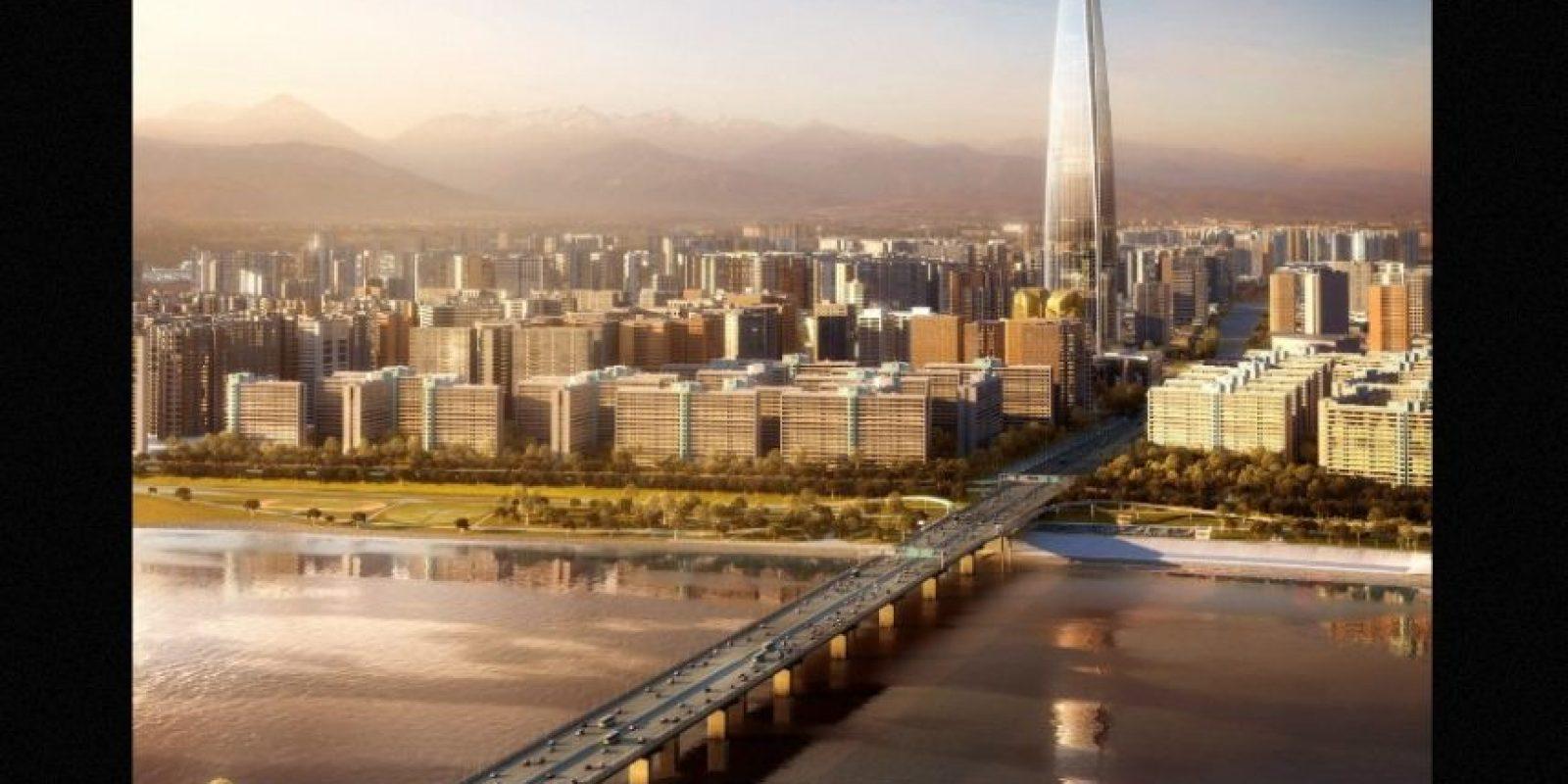 7. Lotte World Tower (Corea del Sur) – 123 pisos – 554 metros (1819 pies) de altura Foto:Kohn Pedersen – Skyscrapercenter.com