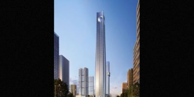 6. Pearl of the North en China. Se completará en 2018, tendrá 113 pisos y una altura de 567 metros (1863 pies) Foto:Atkins – Skyscrapercenter.com