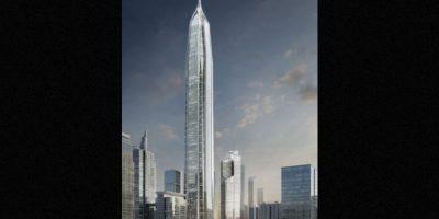 3. Ping An Finance Center (China) – 115 pisos – 659 metros (2165 pies) de altura Foto:Kohn Pedersen – Skyscrapercenter.com