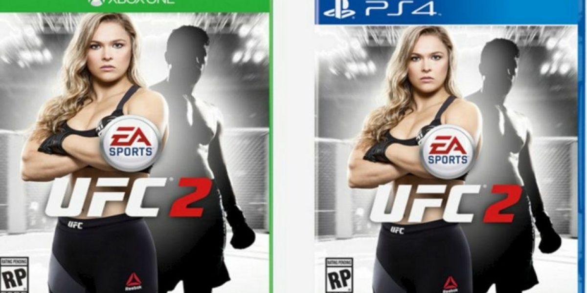 Fotos: Así se ve Ronda Rousey en la portada del videojuego de la UFC