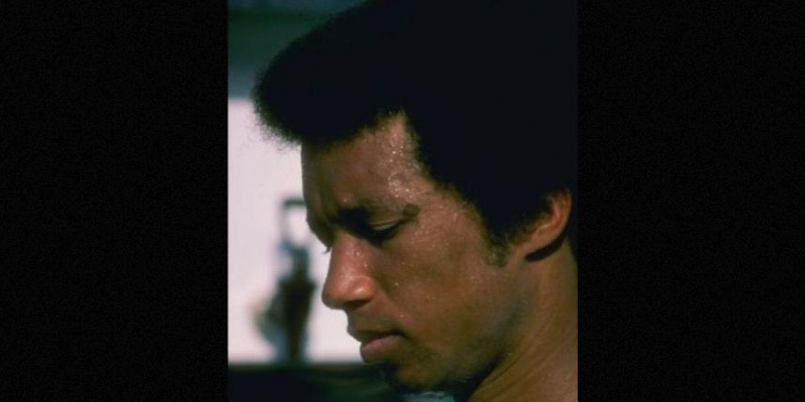 Arthur Ashe- El tenista estadounidense en Nueva York el año 1993 Foto:Getty Images
