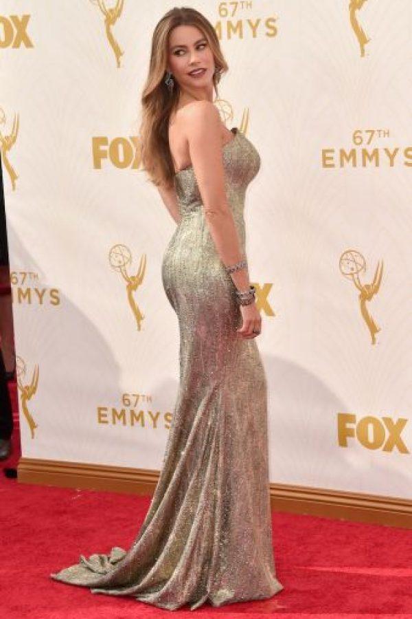 El vestido de la actriz colombiana será diseñado por el libanés Zuhair Murad. Foto:Getty Images