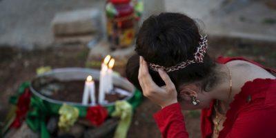 En 2014, entre dos mil y cinco mil personas fueron masacradas aquí por la violencia de ISIS Foto:Getty Images