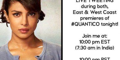 """Eso le hizo ganar el protagónico de la serie de ABC, """"Quantico"""". Foto:vía Instagram"""