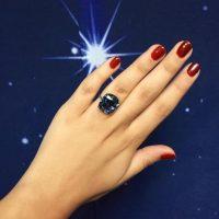 """La joya, antes llamada Blue Moon, fue rebautizada como """"The Blue Moon of Josephine"""" Foto:Vía instagram.com/sothebys"""