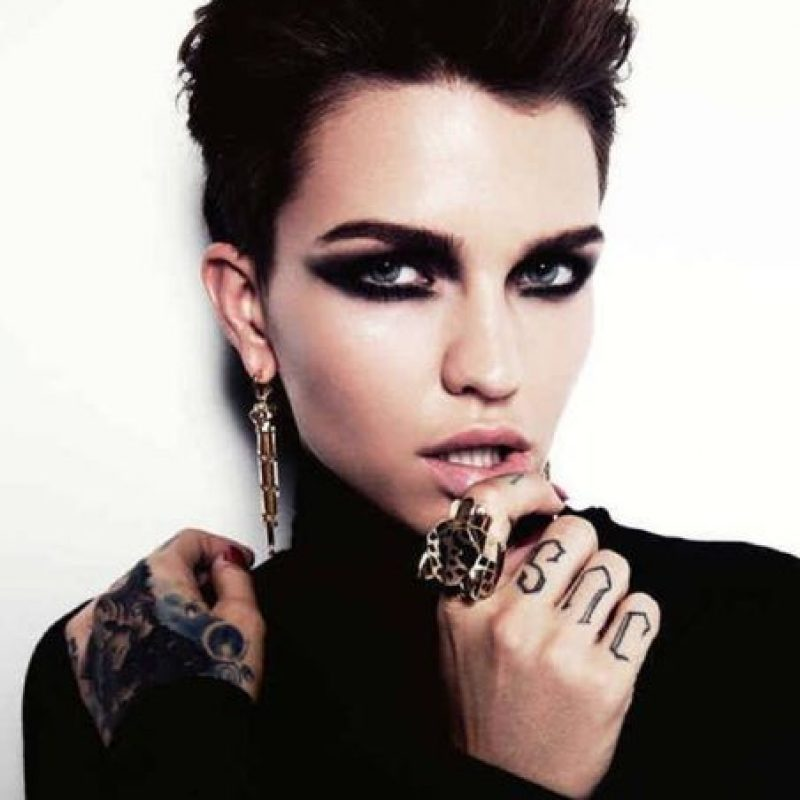 Modelo australiana, DJ y cantante. Foto:vía Instagram/rubyrose