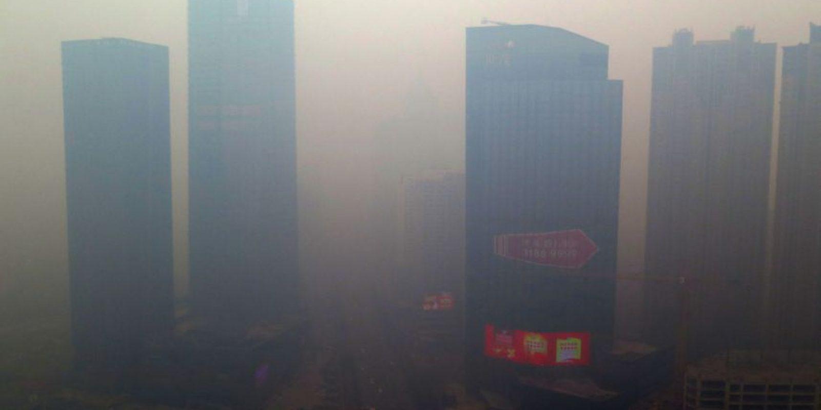 1. En 2013 la OMS confirmó que la contaminación causa cáncer. Foto:AFP