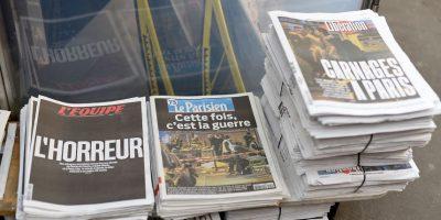 Los diarios narraban el horror del día anterior. Foto:Getty Images
