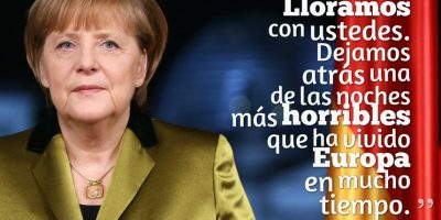 ANGELA MERKEL, Jefa del Gobierno de Alemania. Foto: Getty Images