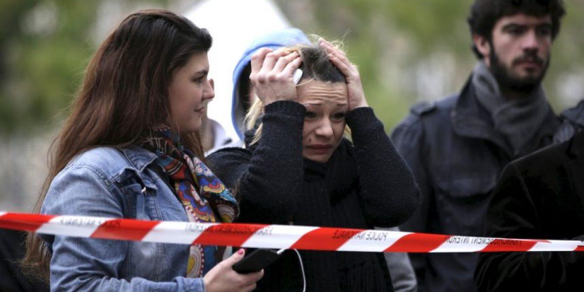 Revelan el video del momento exacto en el que inicia balacera en teatro Bataclan en París