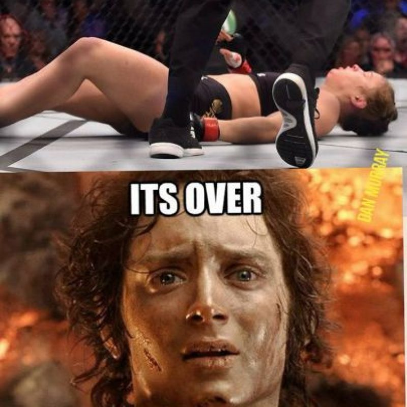 ¡Se acabó! Foto:Vía facebook.com/MemesMMA