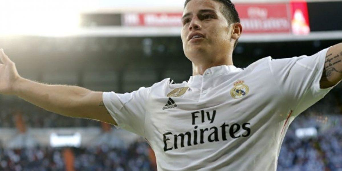 James Rodríguez quiere que le suban el salario en el Real Madrid